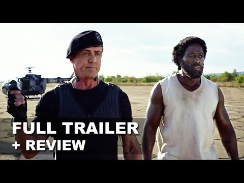 The Expendables 3 Official Trailer + Trailer Review : HD PLUS
