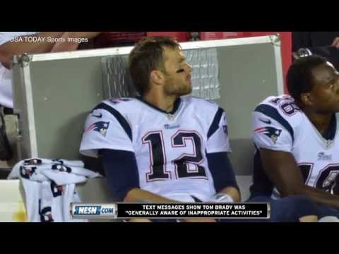 Wells Report: Patriots Employees' Texts Suggest Tom Brady Aware Of Deflation