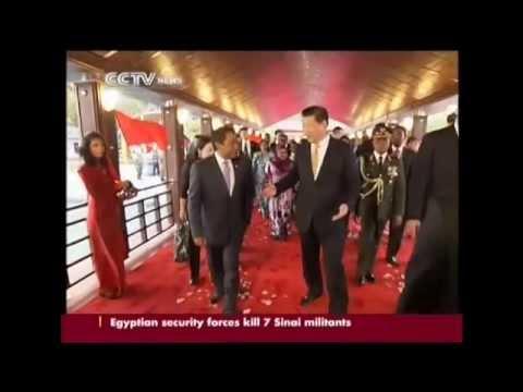 Xi Jinping visits Maldives