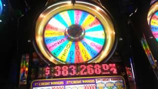 AMAZING Run with $20 - Wheel of Fortune Slot - HUGE WIN!!