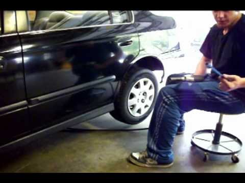 How to Replace Rear Drum Brakes Honda Civic