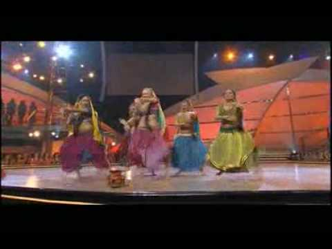 Rangeelo maro dholna - American girls - Indian performance Music Videos