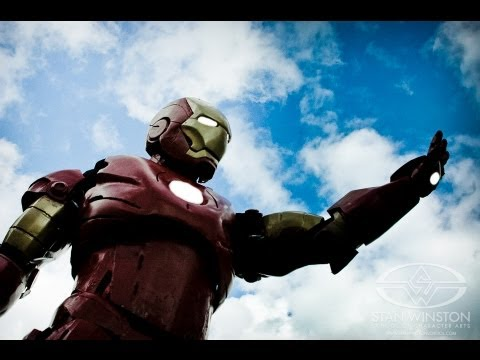 Why I made an Iron Man Suit - 16-year old Tony Stark builds homemade Iron Man Suit