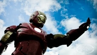 Why I made an Iron Man Suit - 16-year old Tony Stark builds homemade Mark III Armor