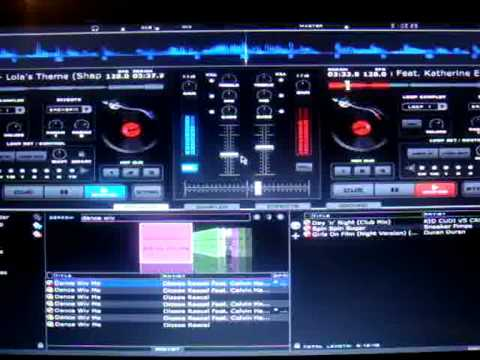 Virtual DJ Demo  - 7 Tunes in 7MinMix - No Mixer Or CDJ