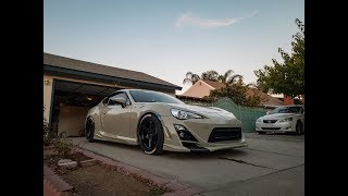 Installing the First Varis Arising 2 Body Kit on a 2.0 Release Series FRS