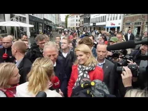 Helle Thorning-Schmidt og Villy Søvndal