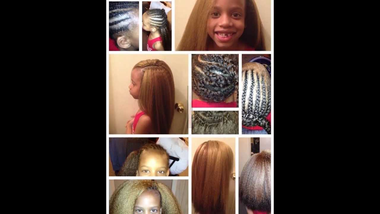 Straight Crochet Braids For Kids Straight Crochet Braids With