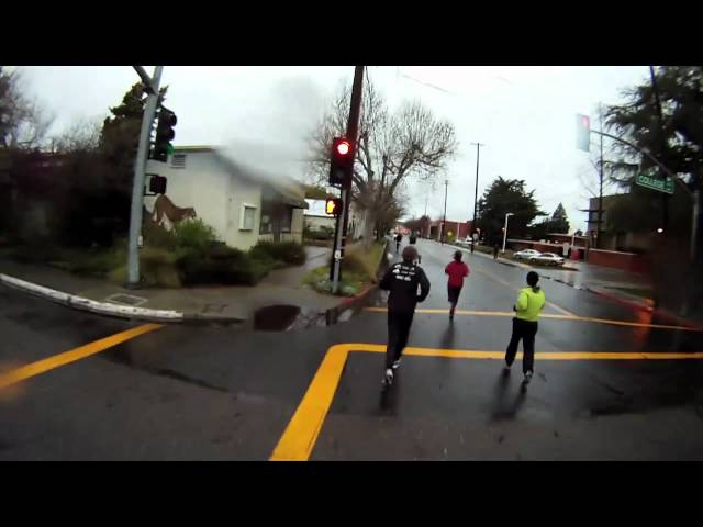 2011 Modesto Marathon 5K POV - GoPro HD Hero