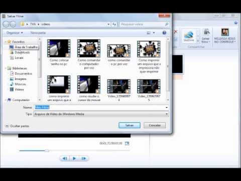 Como juntar vdeos com o Windows Movie Maker