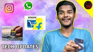 Amazon  Flipkart sale, whatsApp, Sony sdcards  Tech Updates