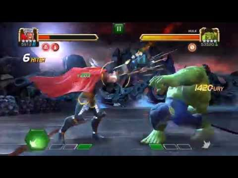[Realm of Legends] Thor vs Hulk - Marvel Contest of Champions