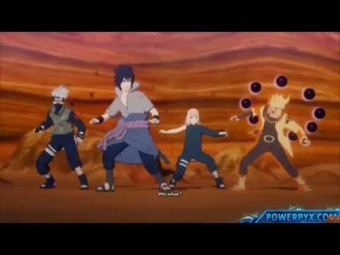 Naruto: Финал битва Саске и Наруто против Кагуи (часть 2 )