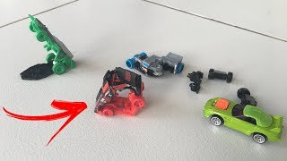 OS INCRÍVEIS CARRINHOS HOT WHEELS QUE SE TRANSFORMAM!!!