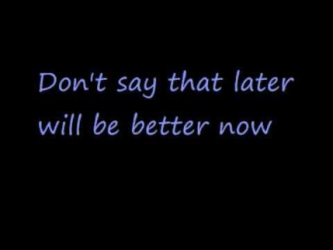 U2-Stuck in a Moment You Can't Get Out Of (Lyrics)