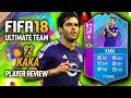 FIFA 18 END OF AN ERA KAKA 92 PREMIUM SBC PLAYER REVIEW FIFA 18 ULTIMATE TEAM mp3