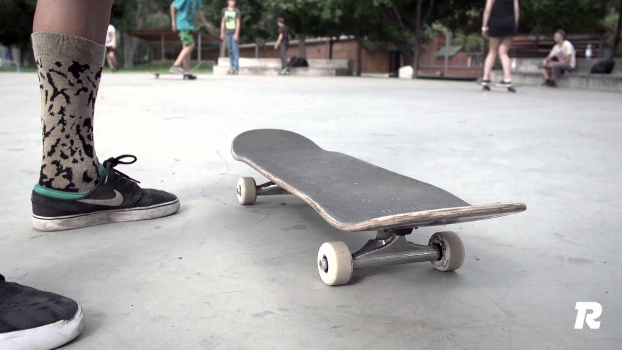 Как сделать кикфлип на скейте 174
