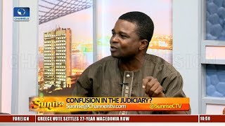 CJN Suspension: The President Lied About Directive, Legal Practitioner Says Pt.1 |Sunrise|