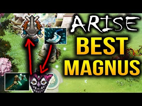 Arise the BEST MAGNUS Player In the World Dota 2