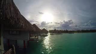 Explore the Bora Bora French Polynesia in 4K || Explore the World