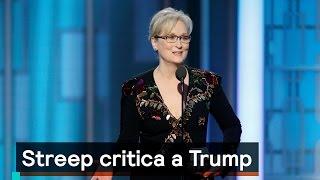 Meryl Streep critica a Trump en los Globos de Oro - Las Noticias con Danielle
