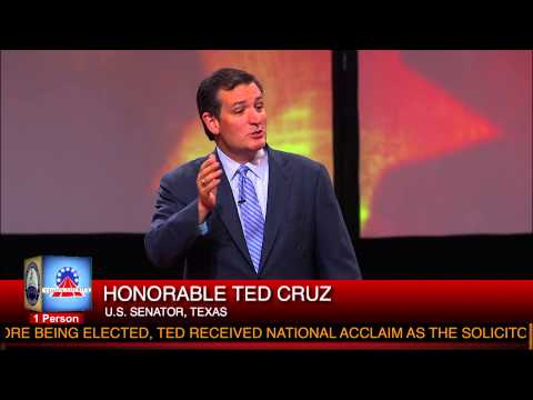 Sen. Ted Cruz speaks at Star Spangled Sunday