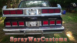 1984 Box Chevy Caprice Rear Clip Swap To 87-90 Euro Clip / How To Swap Rear Clip Out To Euro Clip