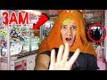 DO NOT PLAY CLAW MACHINES AT 3AM! OMG SO SCARY!! 😱 | 3AM CHALLENGE
