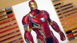 Speed Drawing: Iron Man