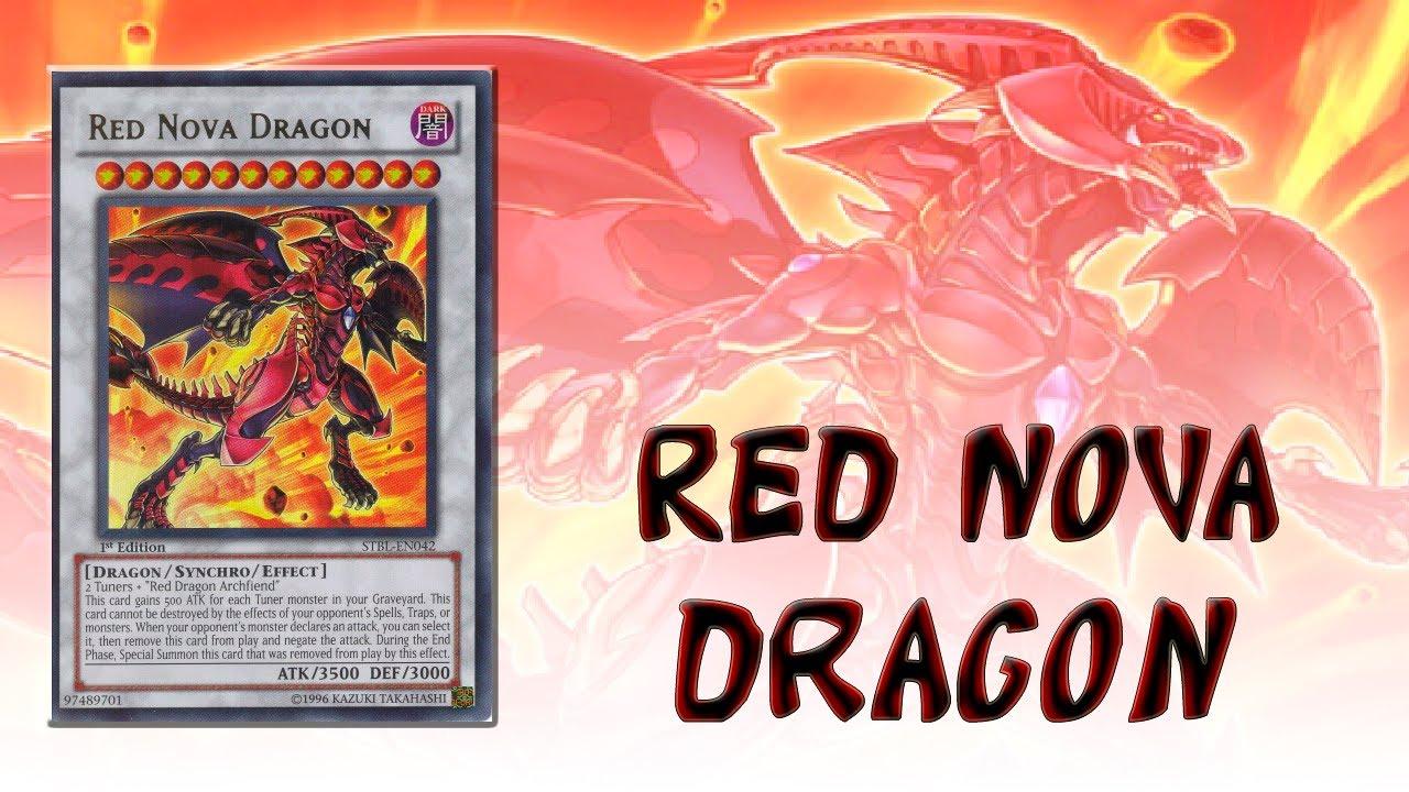 Red Nova Dragon Deck Ygopro Red Nova Dragon Deck