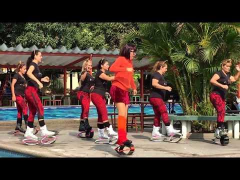 kangoo dance SCOOBY DOO PA PA by ROSIBELL CALERO ( Guayaquil - Ecuador ) VIDEO  2
