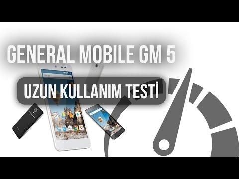 General Mobile GM 5 - Uzun Kullanım Testi