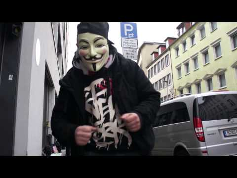 Anonymous Hamburg meets Hannover! Raid 2014 March [Chanology Germany]