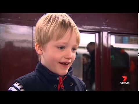 Seven News Sydney - Transport Heritage Expo (6/6/2015)
