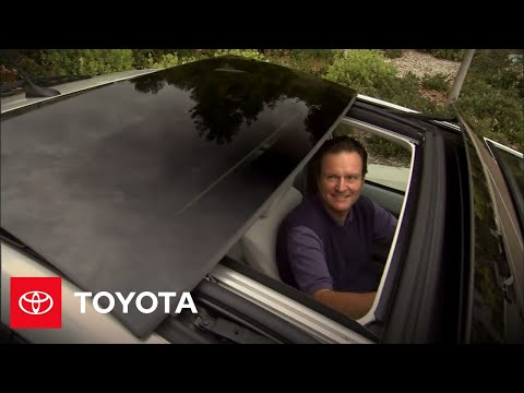 Prius How-To: Moonroof Controls | 2010 Prius | Toyota