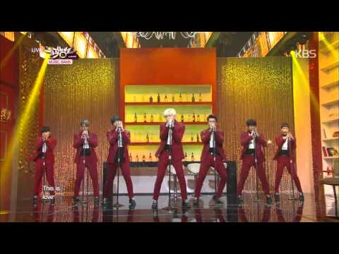 [hit] 뮤직뱅크-슈퍼주니어(super Junior) - This Is Love + 백일몽(evanesce).20141024 video
