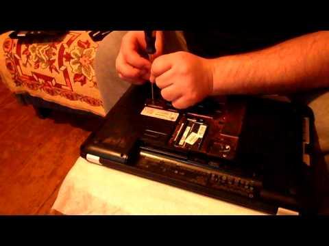 Разборка ноутбука hp pavilion g6 чистка от