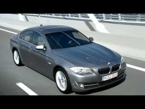 BMW 5 Series F10. Промо-видео