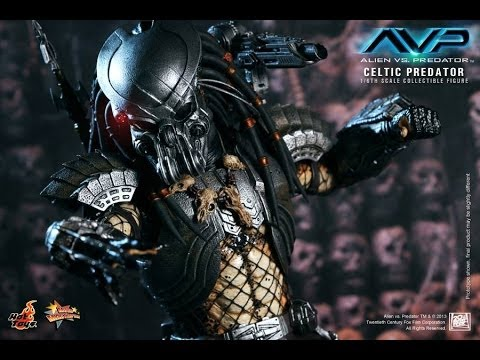 AVP: Alien VS Predator Hot Toys Celtic Predator Movie Masterpiece 1/6 Scale Figure Review