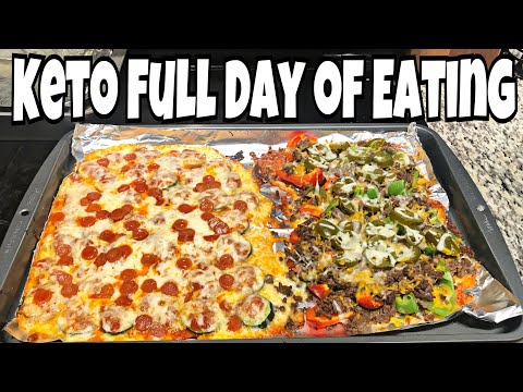 Keto Day of Eating   Green Smoothie, Pizza Bites & Nachos   Pinner Test Food Intolerance Test