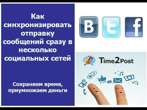 Facebook,VKontakte,Twitter,Time2post. Секреты оптимизации социальных сетей