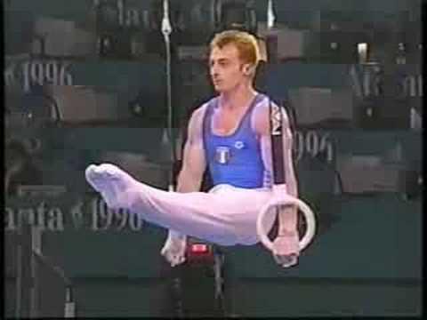 Yuri Chechi-Finale Atlanta 1996- Oro