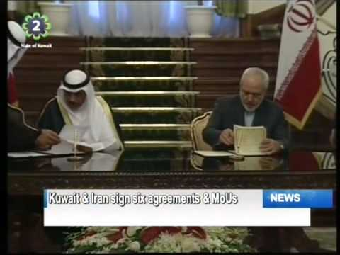Kuwait & Iran sign six pacts during His Highness the Amir's first visit to Tehran