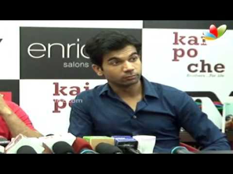 Kai Po Che Press Meet | Latest Bollywood movie | Sushant Singh...