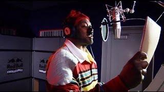 Ghostface Killah raps live in the Red Bull Studio