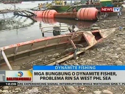 BT: Mga bungbung o dynamite fisher, problema rin sa West PHL Sea