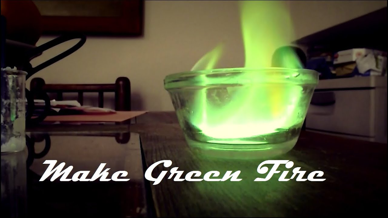 how to make fire turn colors