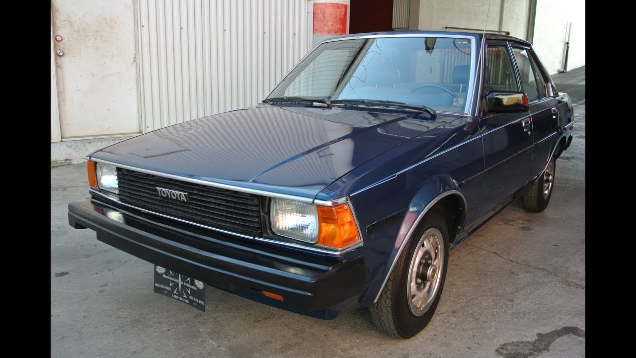 1982 Toyota Corolla Rwd 1 Owner 45k Orig Miles Fourth
