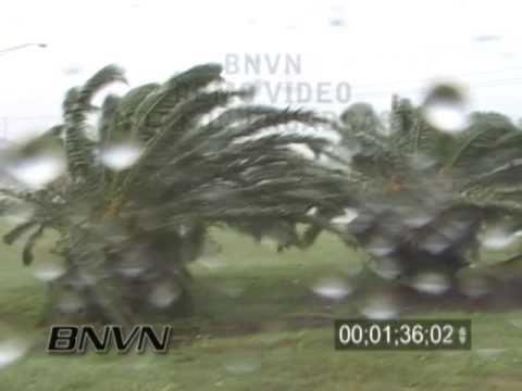 9/5/2004 Hurricane Frances Video from Lakeland Florida