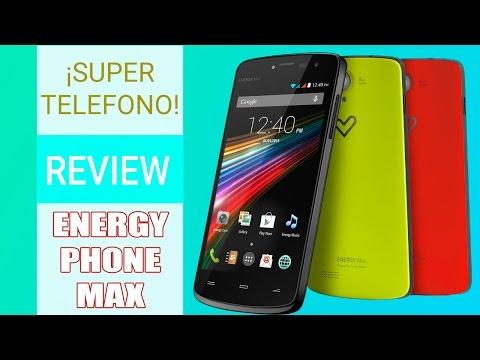 REVIEW ENERGY PHONE MAX | Buen precio, mejor Smartphone
